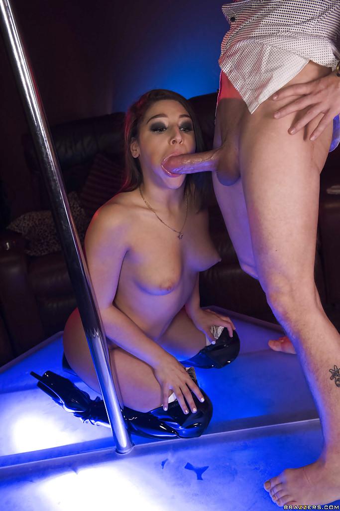 Male stripper office party