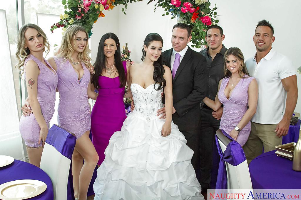 Порно фото на свадьбе
