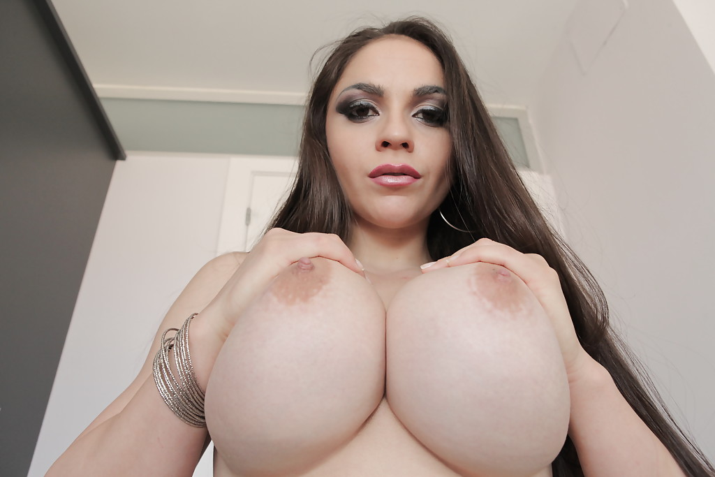 Big and round boobs