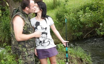 Секс на рыбалке 1 фото