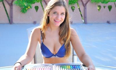 Красивая голая девушка 1 фото