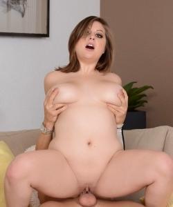 Секс с пышной девушкой