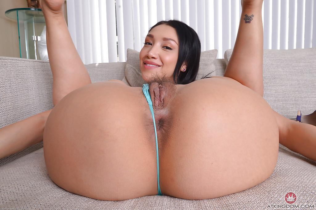 Asian model vicki chase freeing hairy cunt