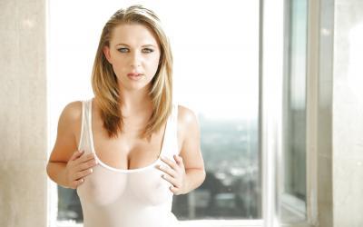 Сексуальная блондинка Brooke Wylde 7 фото