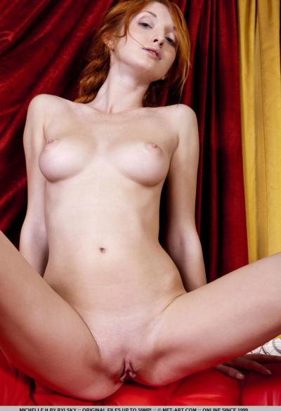 Молодая рыжая девушка 16 фото