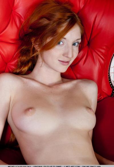 Молодая рыжая девушка 18 фото