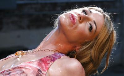 Красивый мокрый секс 2 фото