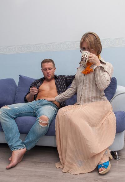 Секс с русской зрелой женой 1 фото