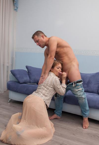 Секс с русской зрелой женой 4 фото