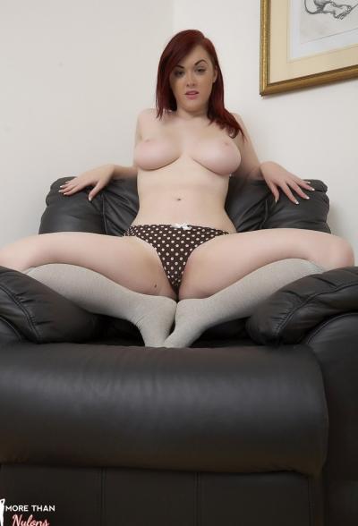 Пышная рыжая девушка Jaye Rose 6 фото