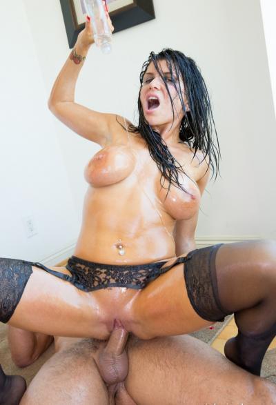 Жесткий красивый секс в масле 17 фото