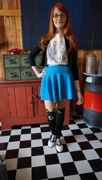 Умная рыжая девушка Krystal Orchid 11 фото